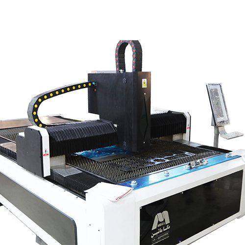 برش لیزر فایبر تک میز مدل FM : ماشین و یا دستگاه